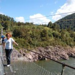 Buller Gorge Swinging Bridge 1