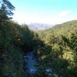 Vista del Mt. Tongariro dal campeggio